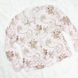 Victoria's Secret Vintage Floral Button Down sz. M